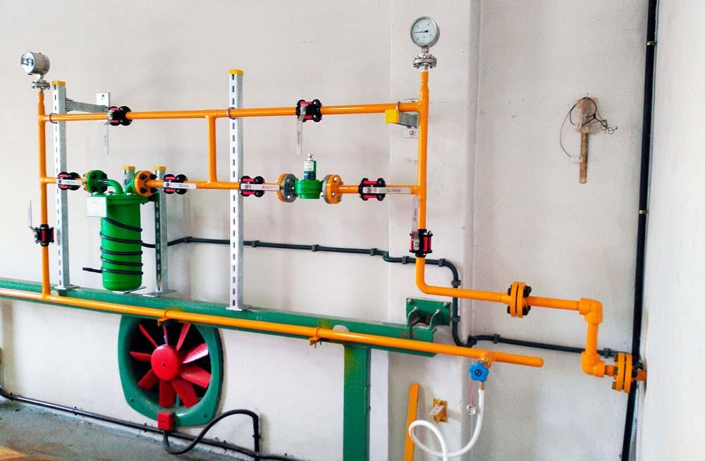 Reforma de instalación de cloro gas ETAP VIGO