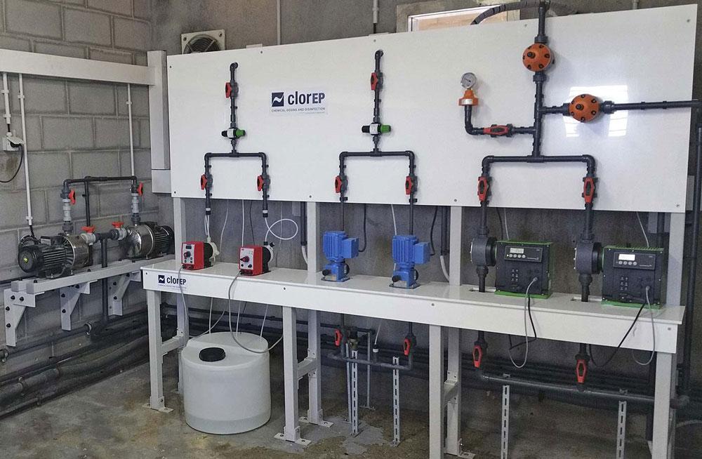 Renovación de las instalaciones de la electrocloración de Granollers