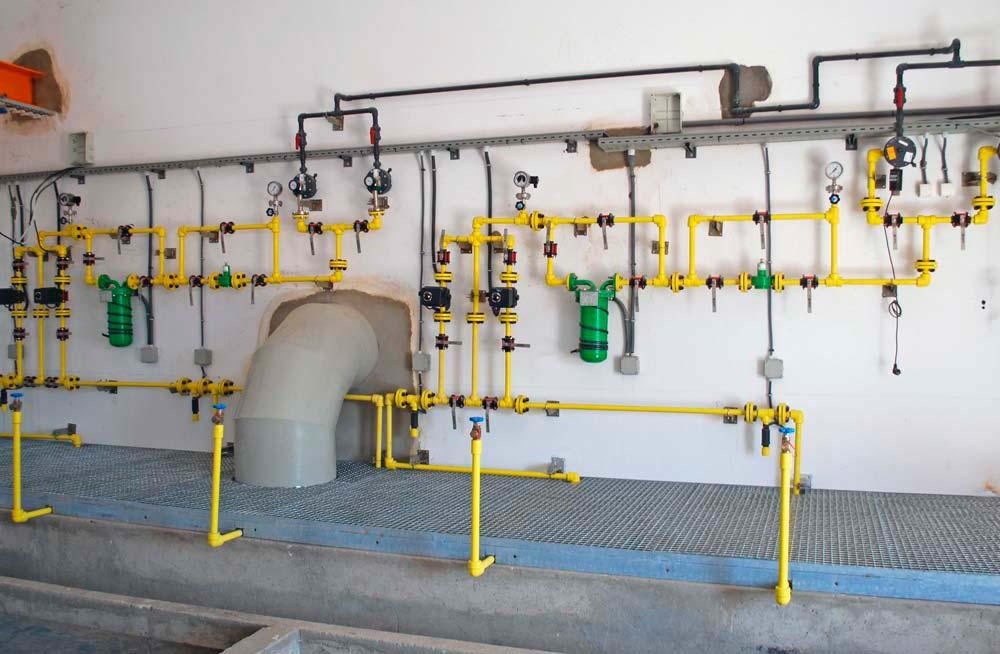 Suministro de equipos y puesta en marcha de instalación de dosificación de cloro gas en MIDELT (Marruecos)