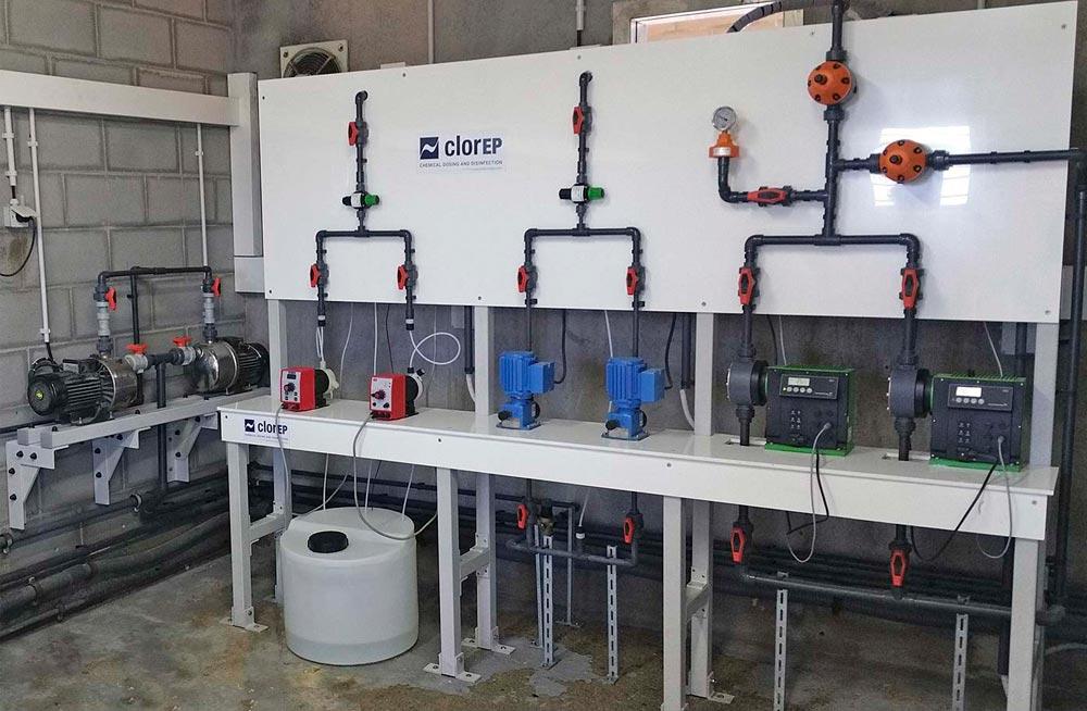 Renovación de las instalaciones de electrocloración en Granollers