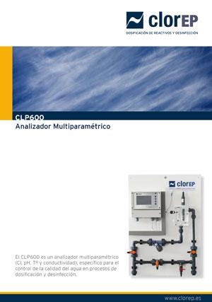 Analizador de Cloro CLP600